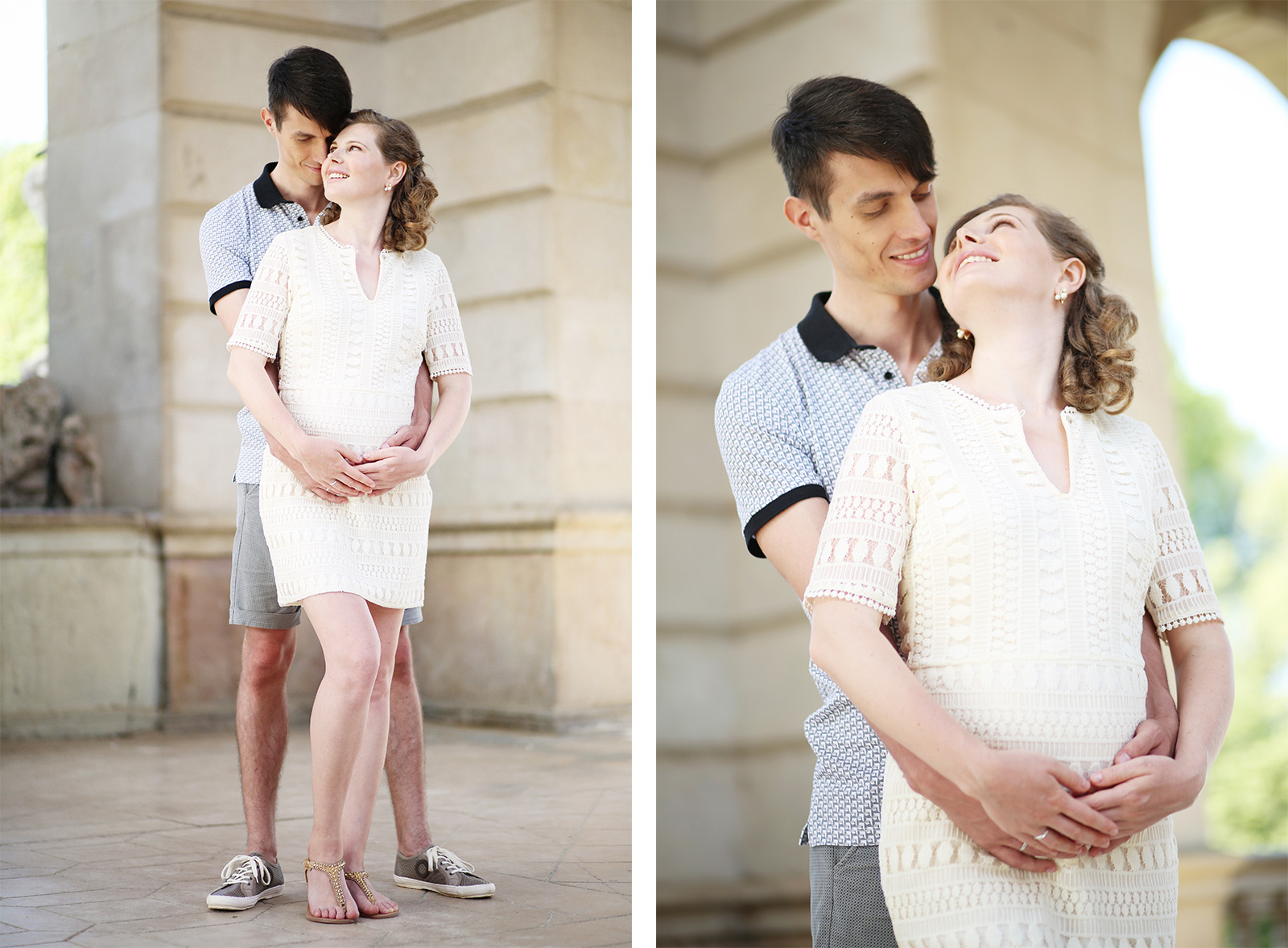 Maternity photographer in Barcelona