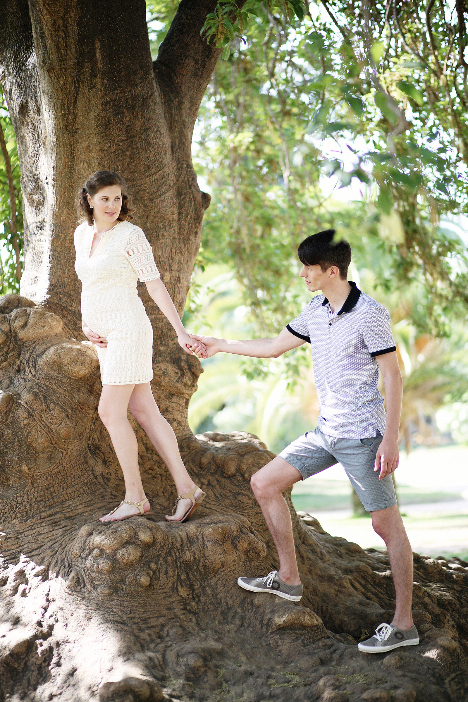 Pregnancy photographer in Barcelona