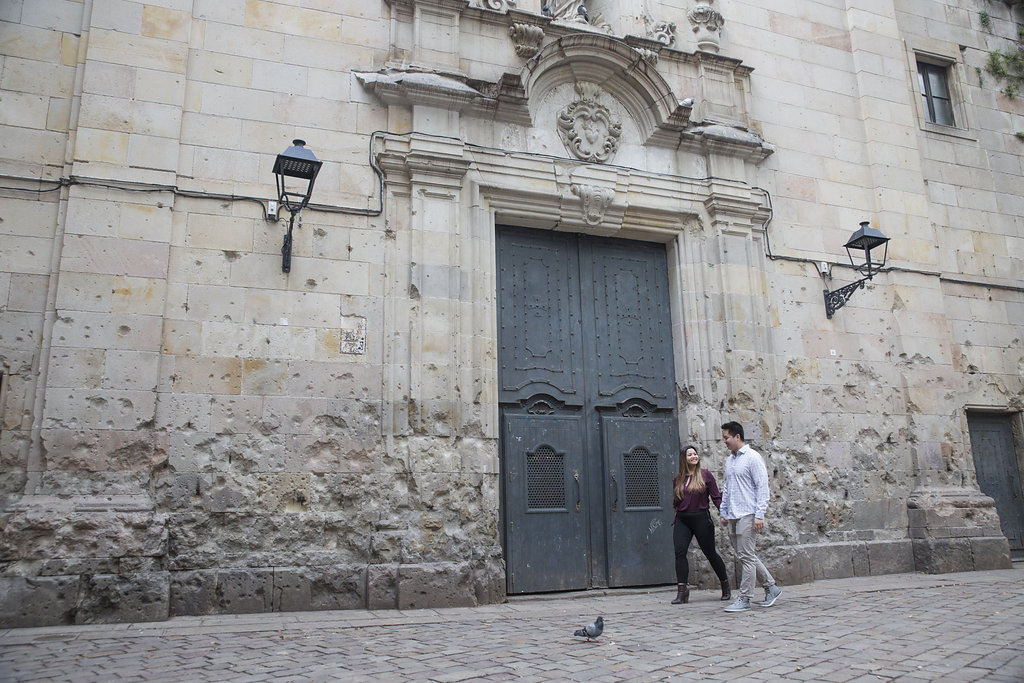 Engagement session in Barcelona
