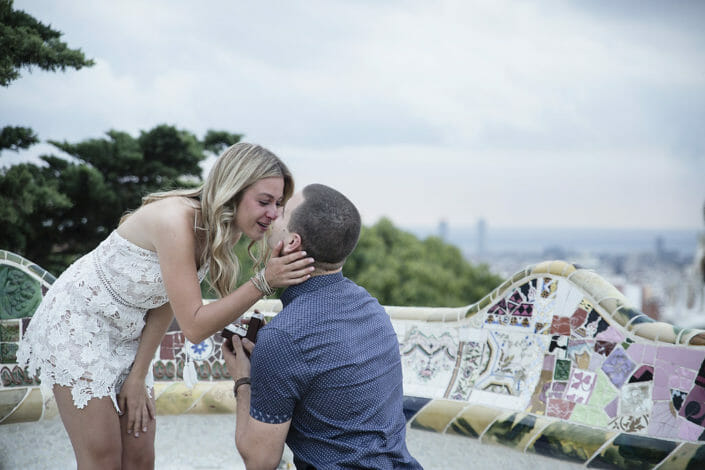Barcelona proposal at Park Guell