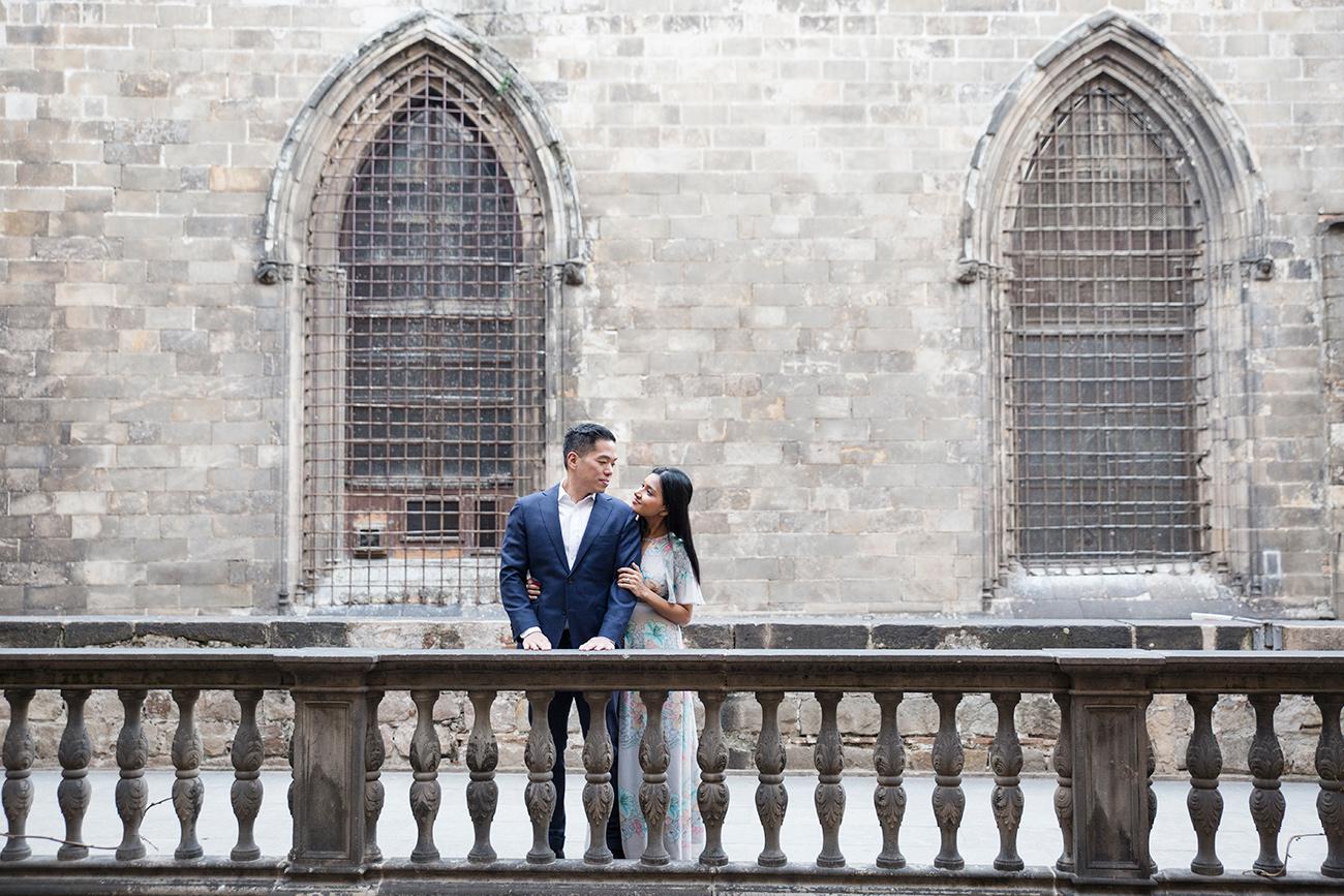 Barcelona couple photographer
