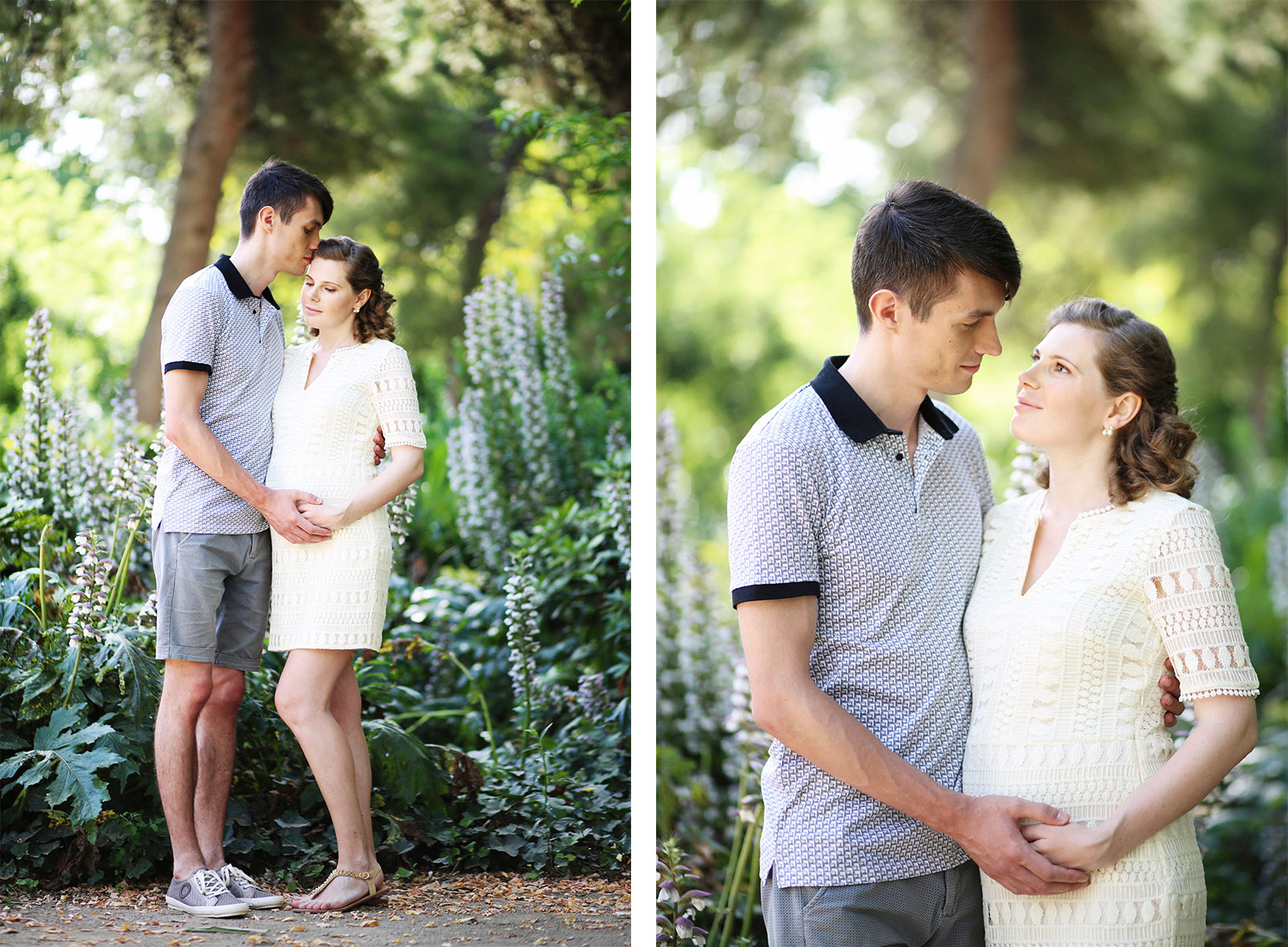 Pregnancy photo sessions Barcelona