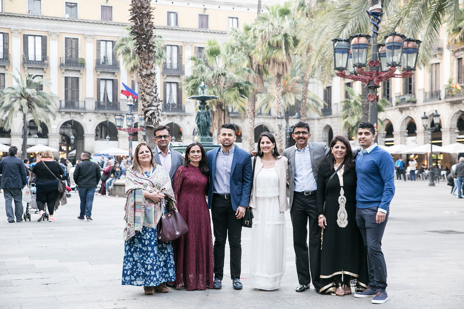 Barcelona family photo shoot