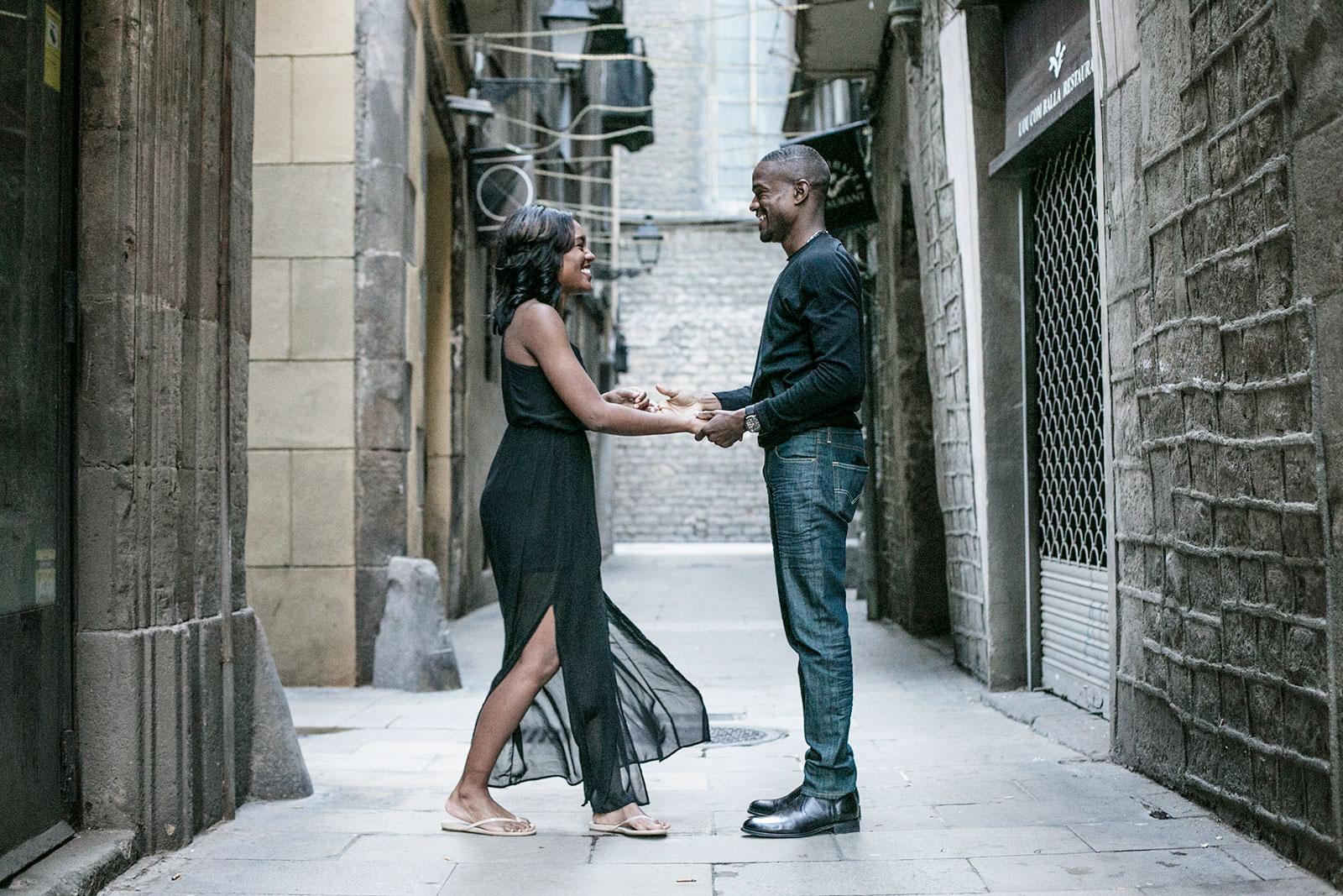 Photo shoot in Born Barcelona