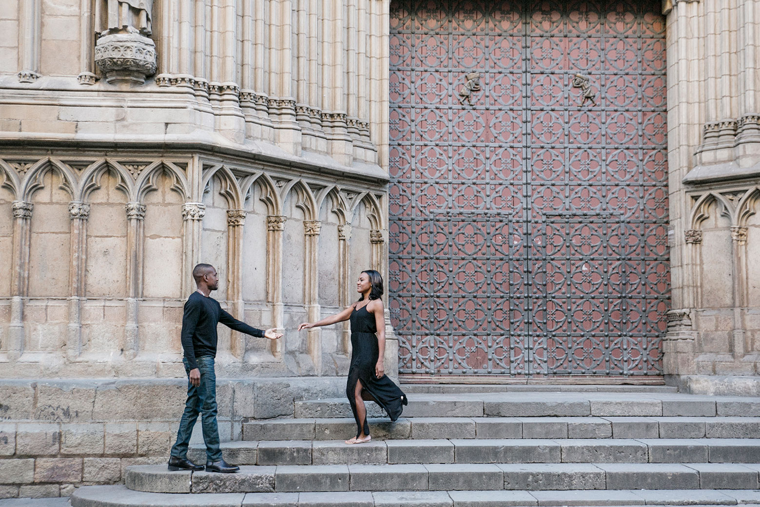 Photo shoot in Barcelona