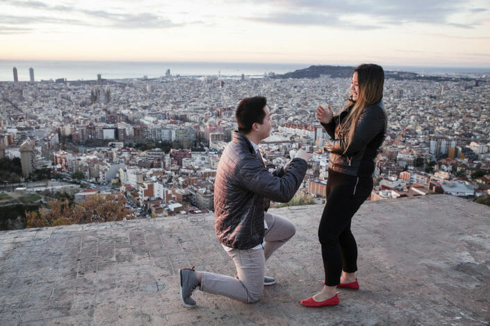 Proposal at the Bunkers del Carmel
