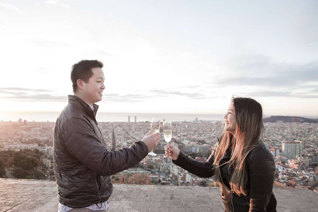 Barcelona proposal photographer