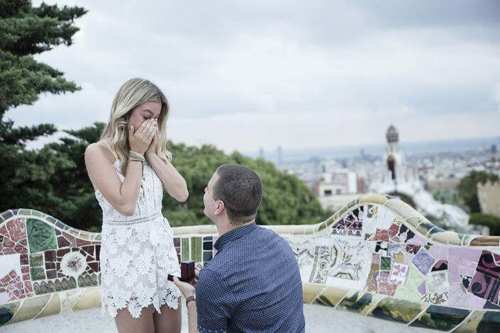 Barcelona proposal in Park Guell