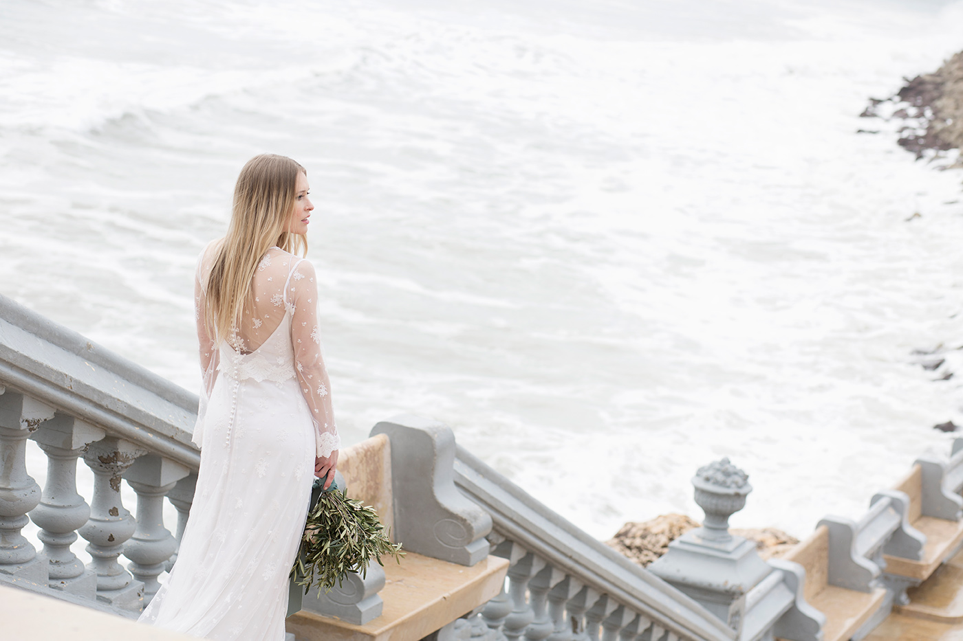 Mediterranean wedding styled shoot in Sitges