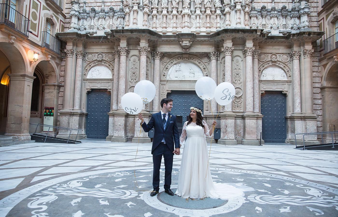 Barcelona wedding photographer Montserrat