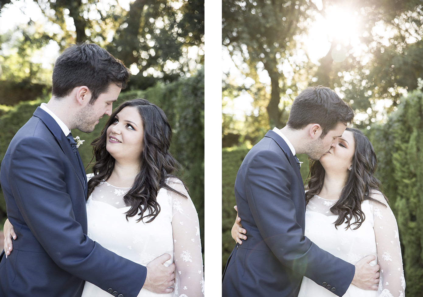 Barcelona wedding photographer Parc del Laberint