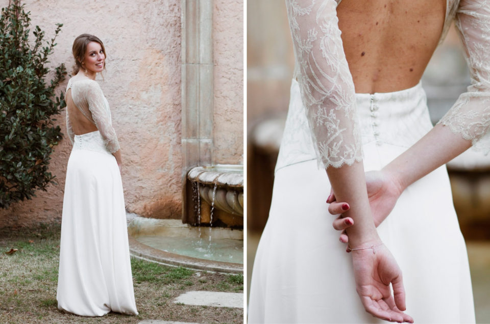 Bridal editorial with La Coquetería dresses