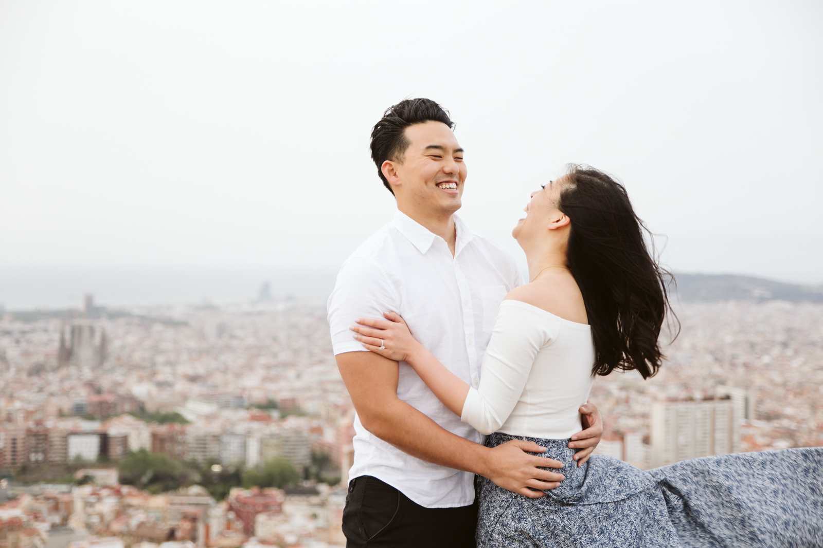 Marriage proposal photography in Barcelona   Natalia Photography