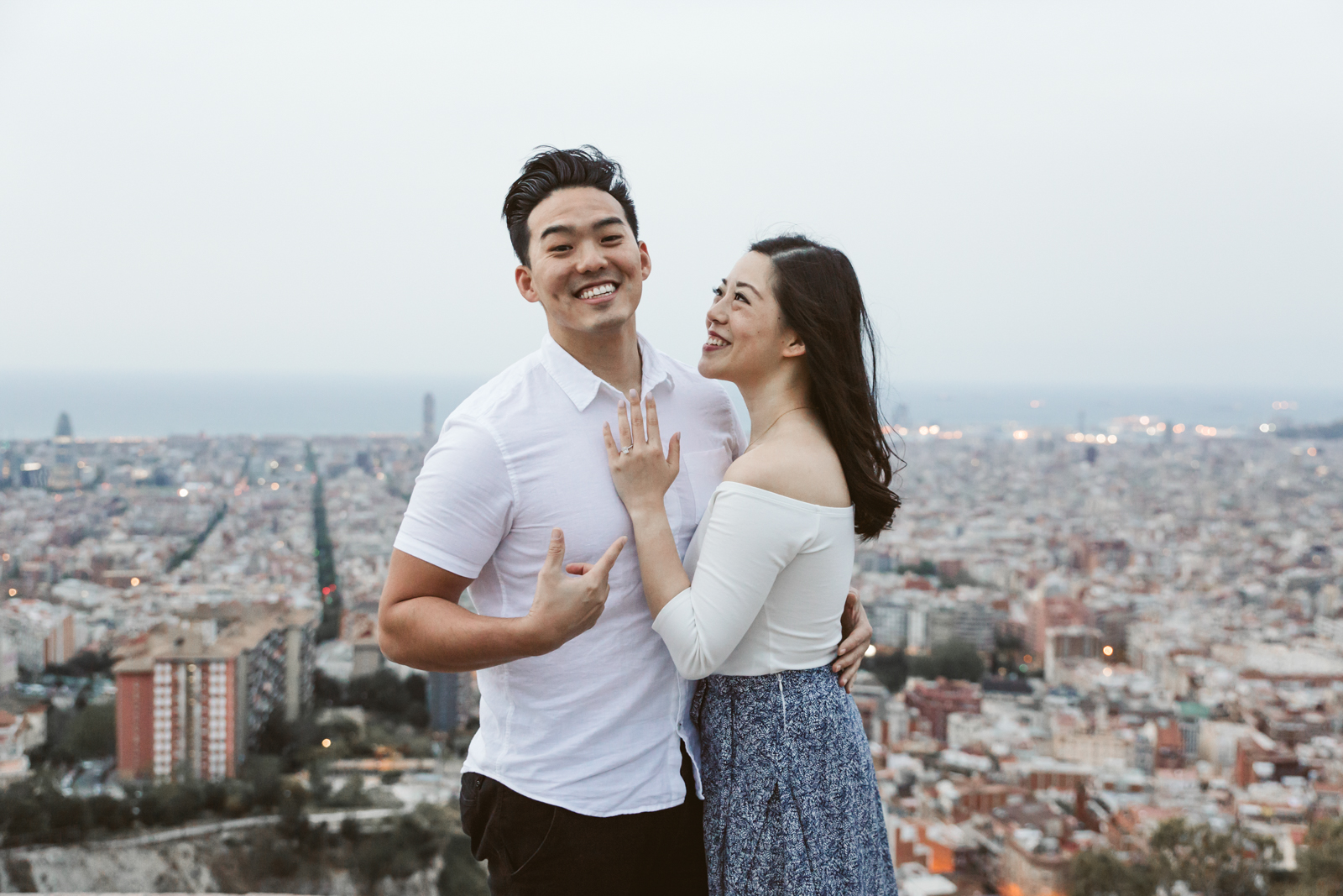 Brian + Jessica | Surprise proposal at the Bunkers