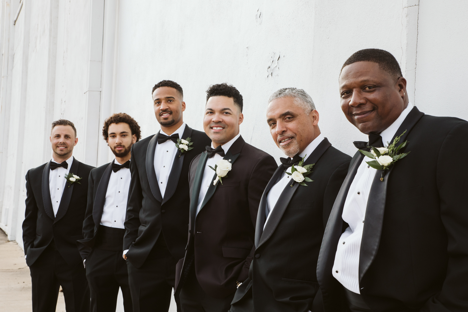 Destination wedding photographer Barcelona, groom party