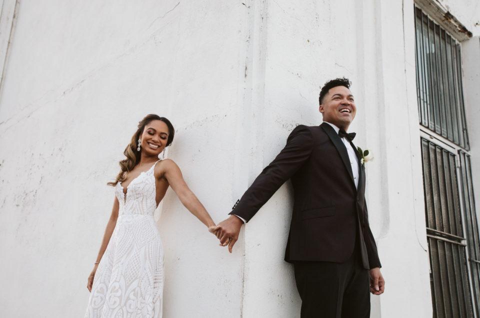Alicia + Blake   Glamorous Dallas wedding